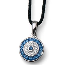 Pøívìsek s krystaly Swarovski Oliver Weber Fabric Eye