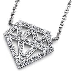 Pøívìsek s krystaly Swarovski Oliver Weber Diamond