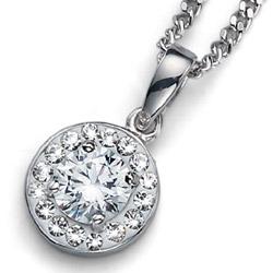 Přívěsek s krystaly Swarovski Oliver Weber Clear Crystal