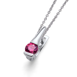 Støíbrný pøívìsek s krystaly Swarovski Oliver Weber Tender 61126-PIN