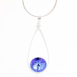 Náhrdelník s krystalem Swarovski Rivoli 61300029SAPH