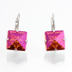 Náušnice s krystaly Swarovski 61400072FIRE