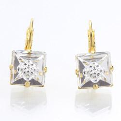 Náušnice s krystaly Swarovski 61400072GCR