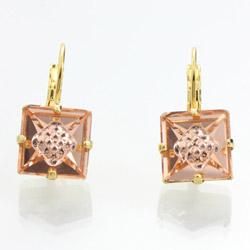 Náušnice s krystaly Swarovski 61400072GPE