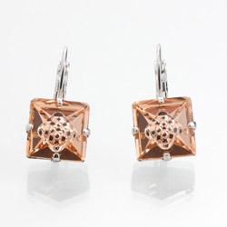 Náušnice s krystaly Swarovski 61400072PE