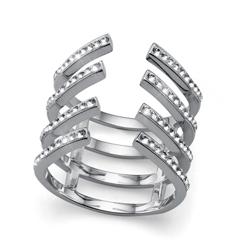 Stříbrný prsten Oliver Weber Trace