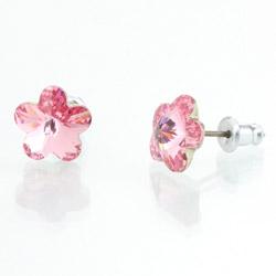 Náušnice s krystaly Swarovski 713856RO