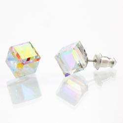 Náušnice s krystaly Swarovski 713887AB