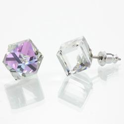 Náušnice s krystaly Swarovski 713887VL