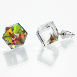 Náušnice s krystaly Swarovski 713887VM