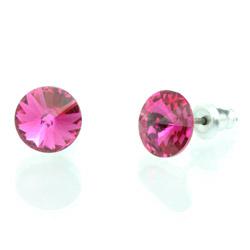 Náušnice s krystaly Swarovski 793853FUCH
