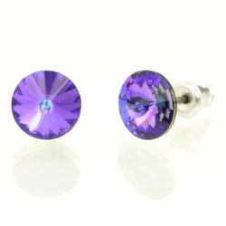Náušnice s krystaly Swarovski 793853HEL