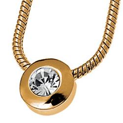 Pøívìsek s krystaly Swarovski Oliver Weber Diamond Gold