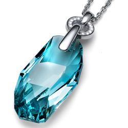 Přívěsek s krystaly Swarovski Oliver Weber Meteor Turquiose