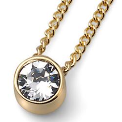 Pøívìsek s krystaly Swarovski Oliver Weber Simple Gold