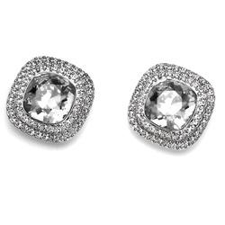 Náušnice s krystaly Swarovski Oliver Weber Autentic Crystal