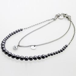 Ocelový náhrdelník Storm Imperial Black