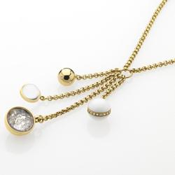 Ocelový náhrdelník Storm Solar Gold