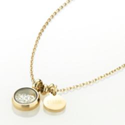 Ocelový náhrdelník Storm Mimi Gold