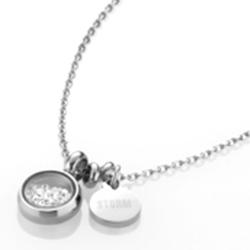 Ocelový náhrdelník Storm Mimi Silver