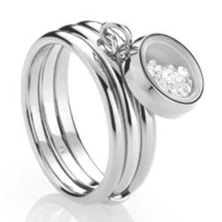 Ocelový prsten Storm Mimi Silver