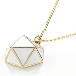 Ocelový náhrdelník Storm Geo Gold