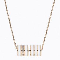 Ocelový náhrdelník Storm Eva Rose Gold