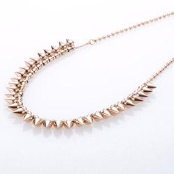 Ocelový náhrdelník Storm Narla Rose Gold