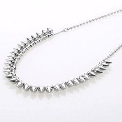 Ocelový náhrdelník Storm Narla Silver
