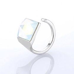 Ocelový prsten Storm Gemza Ice