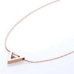Ocelový náhrdelník Storm Tryla Rose Gold