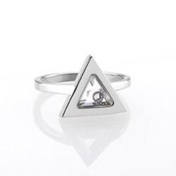 Ocelový prsten Storm Tryla Silver