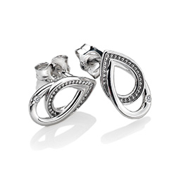 Obrázek è. 2 k produktu: Støíbrné náušnice Hot Diamonds Chandelier Vintage Oval