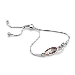 Obrázek è. 2 k produktu: Støíbrný náramek Hot Diamonds Chandelier Vintage Rose Gold