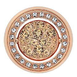 Obrázek è. 8 k produktu: Pøívìsek Hot Diamonds Emozioni Fiamme e Ghiaccio Rose Gold Coin