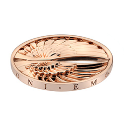 Pøívìsek Hot Diamonds Emozioni Angel Wings Rose Gold Coin