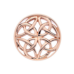 Obrázek è. 2 k produktu: Pøívìsek Hot Diamonds Emozioni Celtic Cross Rose Gold Coin