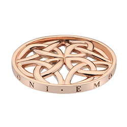 Přívěsek Hot Diamonds Emozioni Celtic Cross Rose Gold Coin