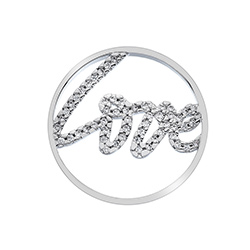 Obrázek è. 2 k produktu: Pøívìsek Hot Diamonds Emozioni Sparkle Love Coin