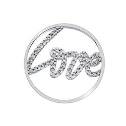 Obrázek č. 1 k produktu: Přívěsek Hot Diamonds Emozioni Sparkle Love Coin