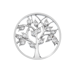 Obrázek è. 2 k produktu: Pøívìsek Hot Diamonds Emozioni Tree Of Life Coin