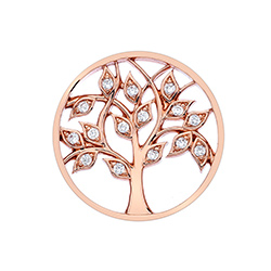 Obrázek è. 2 k produktu: Pøívìsek Hot Diamonds Emozioni Tree Of Life Rose Gold Coin