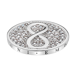 Pøívìsek Hot Diamonds Emozioni Infinity Coin