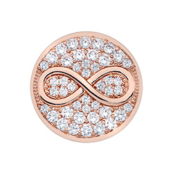 Obrázek è. 2 k produktu: Pøívìsek Hot Diamonds Emozioni Infinity Rose Gold Coin