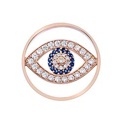 Obrázek č. 1 k produktu: Přívěsek Hot Diamonds Emozioni Eye Sparkle Rose Gold Coin