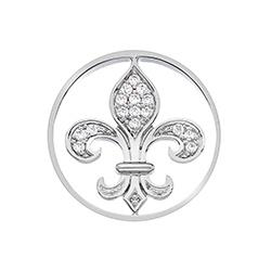 Obrázek è. 2 k produktu: Pøívìsek Hot Diamonds Emozioni Fleur De Ley Coin