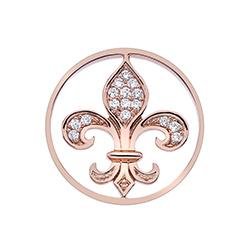 Obrázek č. 1 k produktu: Přívěsek Hot Diamonds Emozioni Fleur De Ley Rose Gold Coin