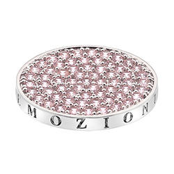Pøívìsek Hot Diamonds Emozioni Scintilla Pink Compassion Coin