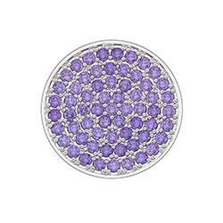 Obrázek è. 2 k produktu: Pøívìsek Hot Diamonds Emozioni Scintilla Violet Spirituality Coin