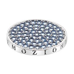 Přívěsek Hot Diamonds Emozioni Scintilla Blue Peace Coin
